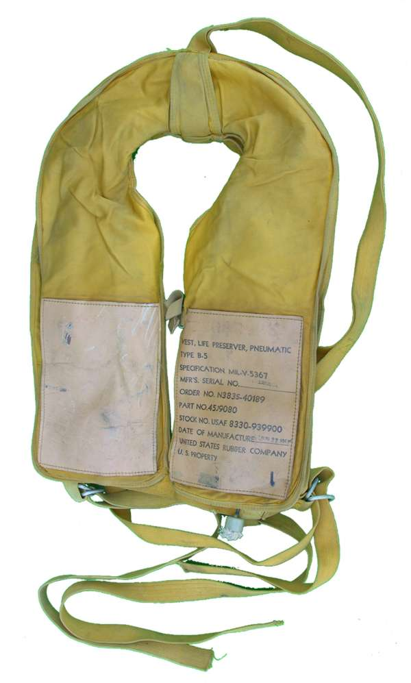 1951 USAF B-5 Life Vest complete!