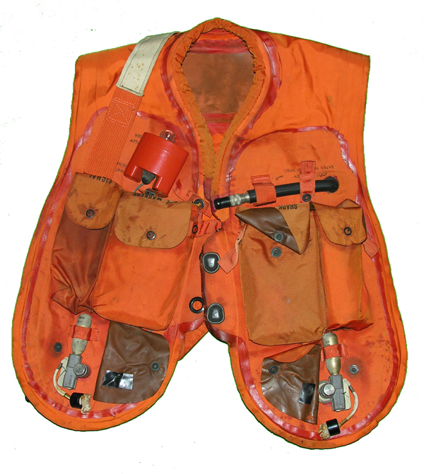 USN Orange MK-2 Life Preserver