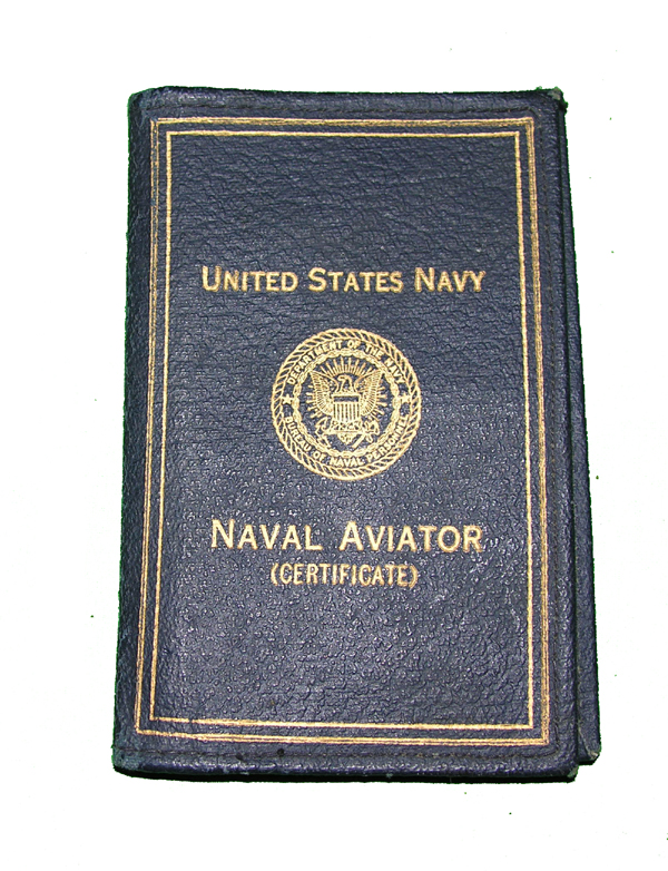 RARE USN Pilot Identification Holder