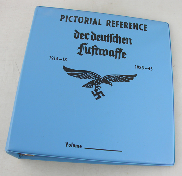 Luftwaffe 3 inch Binder