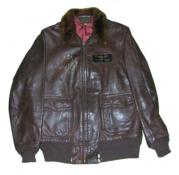 USN M-422a Leather Flight Jacket