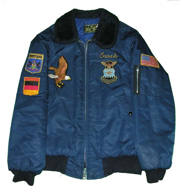 Civilian B-15A style Flight Jacket