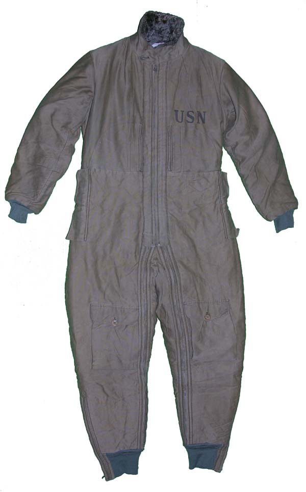 1930s USN S-89 Mod 1 Corduroy Flying Suit