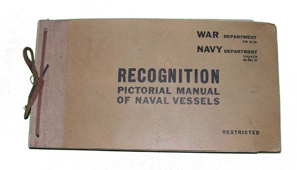 Naval Vessel Pictorial Recongnition Manual