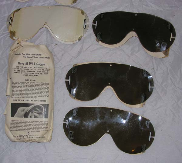 Extra Lenses for M-1944 Goggles
