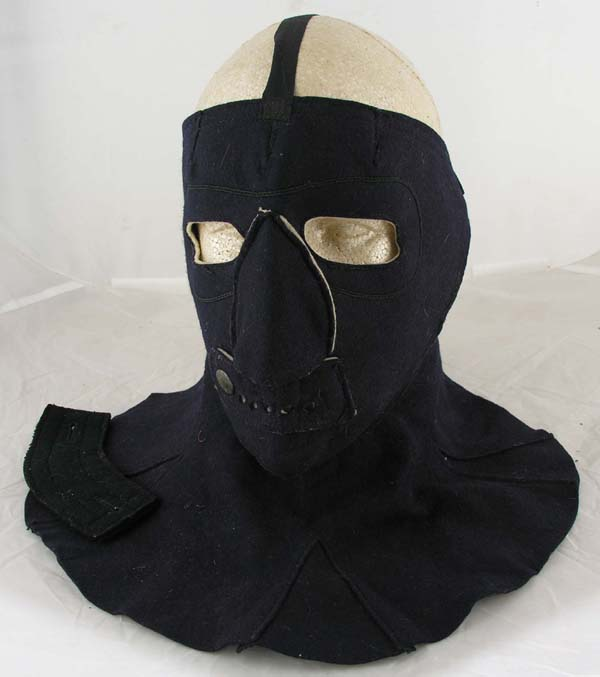 USN Deck Watch Blue Wool Facemask