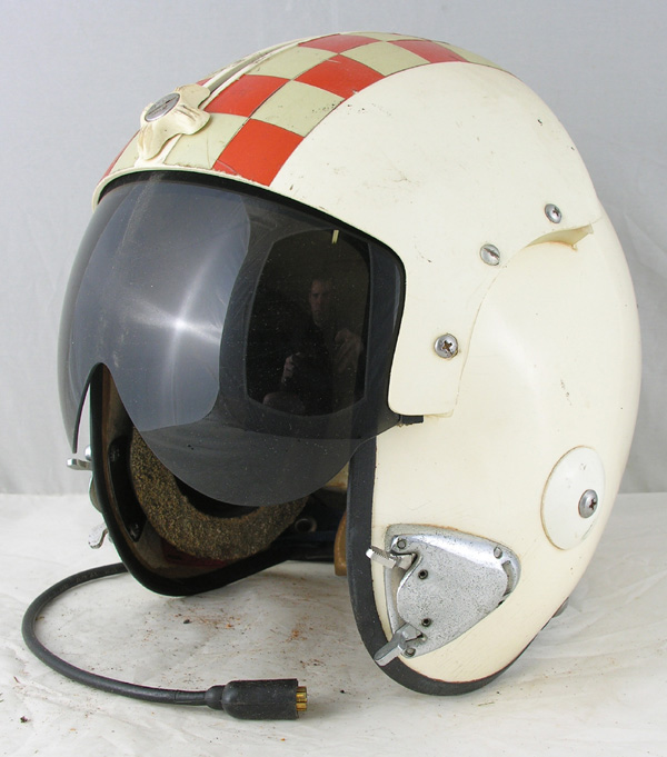 US Navy APH-6 Jet Pilots Helmet with hardman bayonet fittings