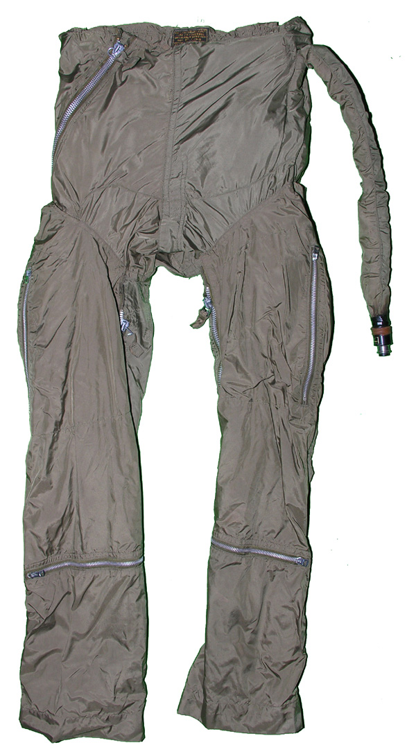 RARE US Navy Z-2 Anti-G Suit converted to Z-3