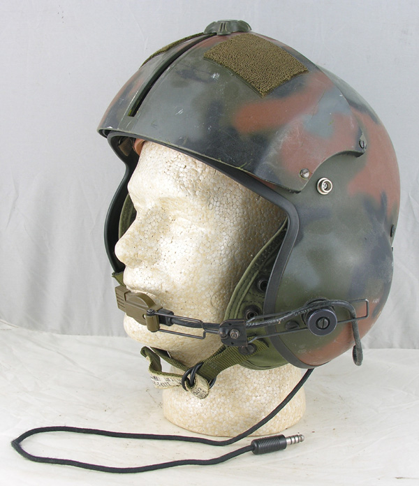 US Army SPH-4 Helicopter Helmet with camo paint