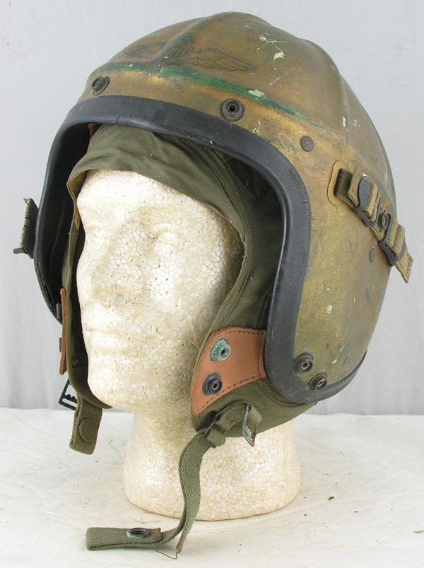 US Navy H-3 Jet Pilots Helmet with liner