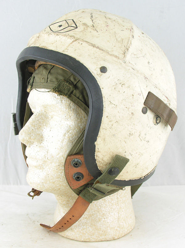 US Navy H-4 Jet Pilots Helmet with Snake Eye Painting