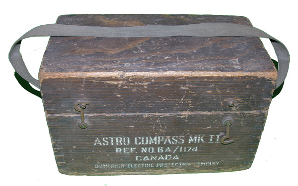 RCAF Mark II Astro-Compass in original box