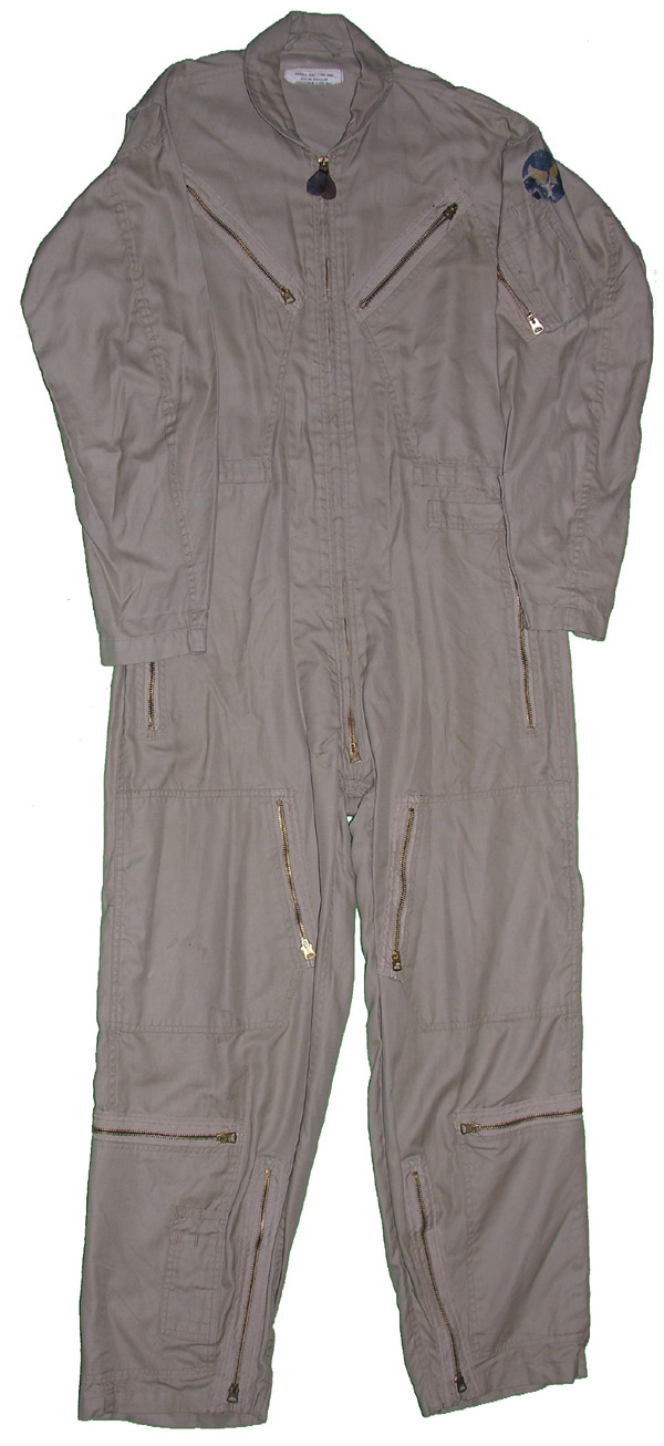 US Navy Khaki Summer Flight Suit with AAF insignia