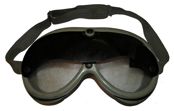 Commercial B-8 Style Goggles with Sun Shield