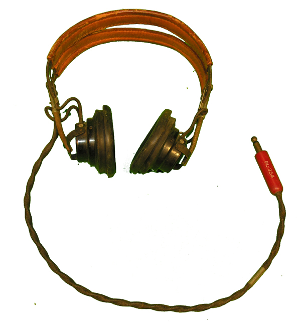 USAAF Headset with Leather Headband