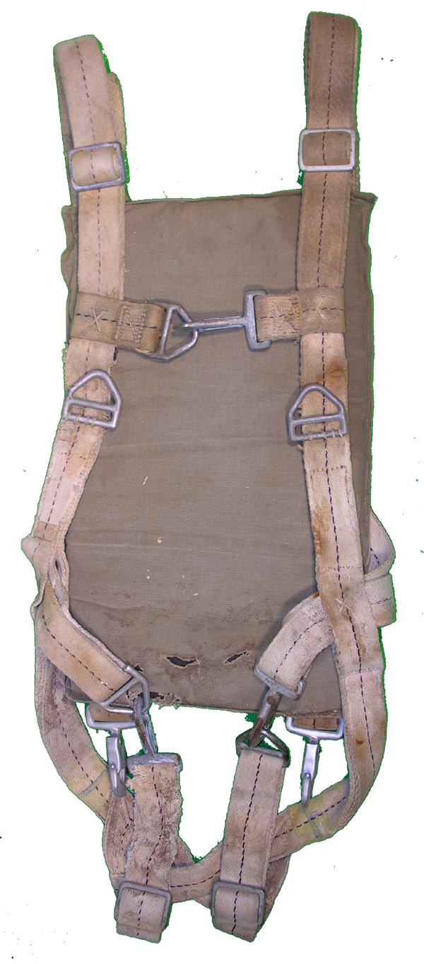 US Navy QAS Parachute Harness