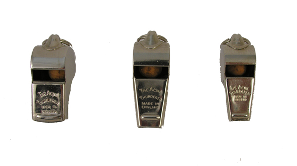 Acme Thunderer Whistles