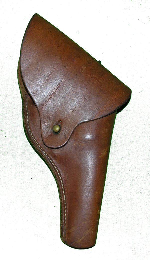 US Navy 38 Revolver Leather Holster