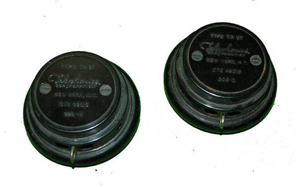 US Navy TH-37 Earphone Receivers