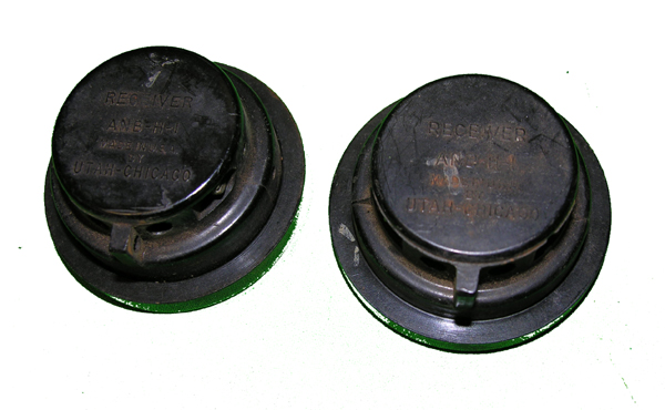 USAAF ANB-H-1 Earphone Receivers
