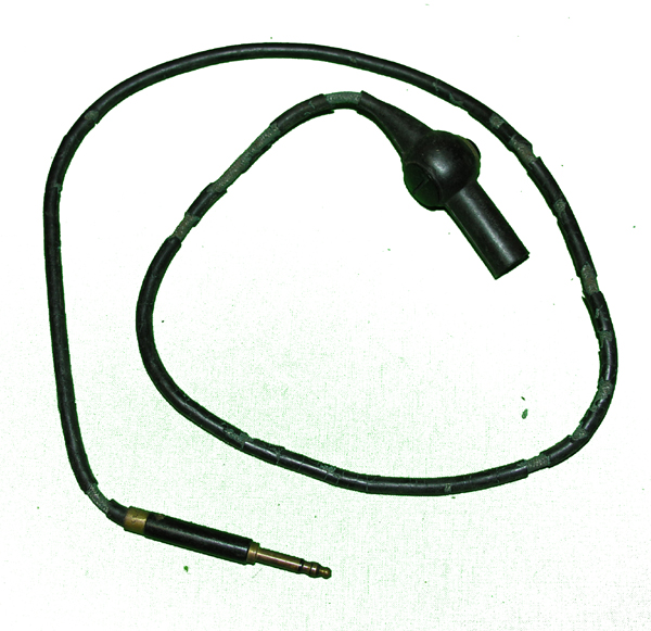 US Navy RS-83 Microphone Extension Cord with push to talk switch