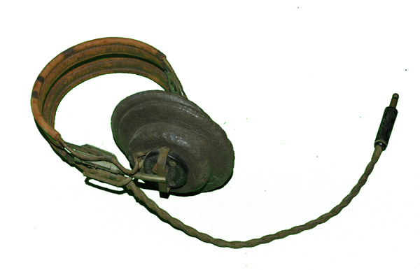 RARE USAAF Headset with Sponge Rubber Earcups