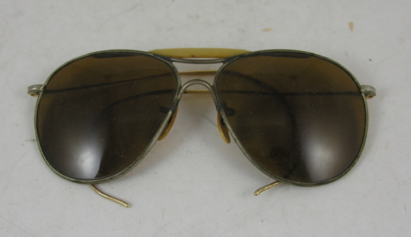 USAAF Rose Lense Aviator Sunglasses