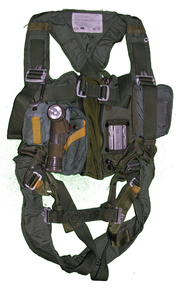 US Navy MA-2 Torso Harness with Rigger Pockets and Equipment