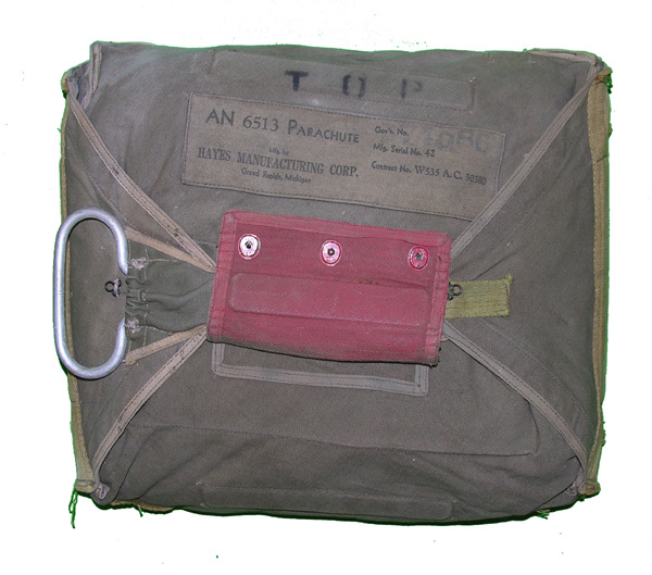 USAAF AN-6513 QAC Chest Parachute Pack