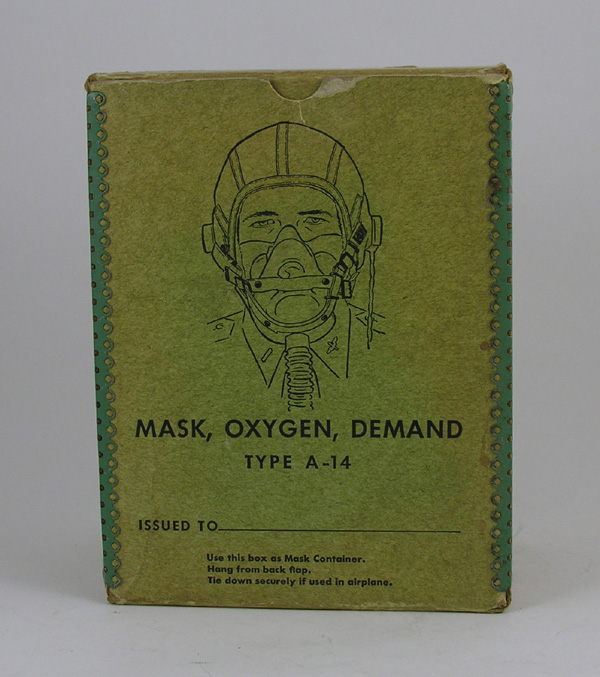 USAAF A-14 Oxygen Mask Box