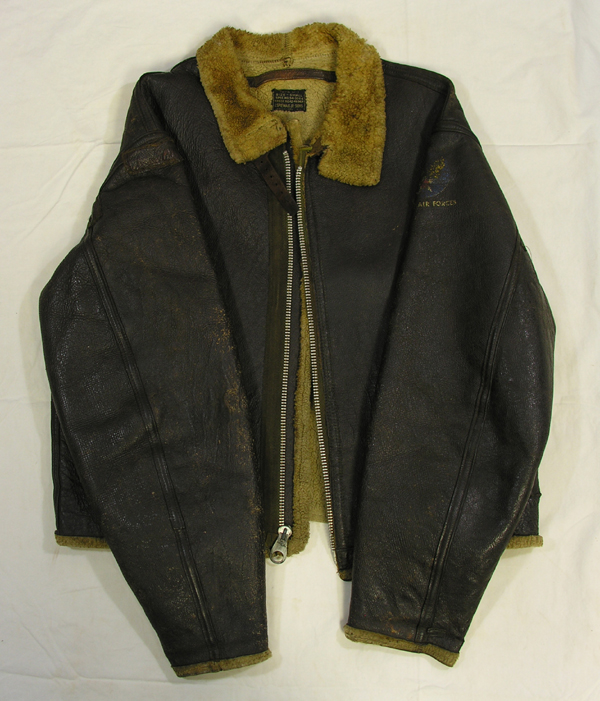 US Army Air Force D-1 Shearling Leather Flight Jacket