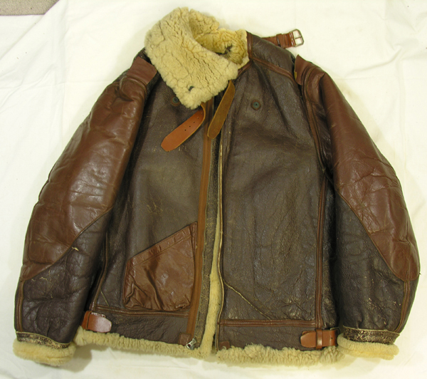 US Army Air Force B-3 Shearling Flight Jacket