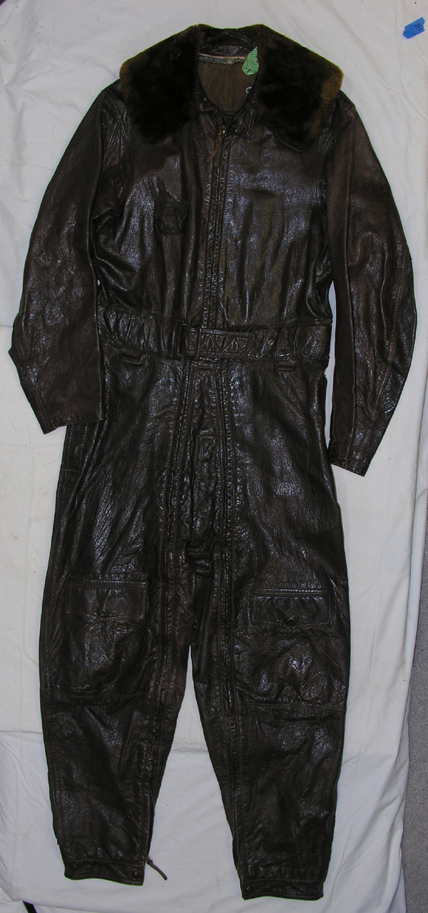 US Navy M-380 Heated Leather Flying Suit