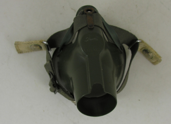 MBU-5/P Oxygen Mask Hardshell with Attachment snaps for HGU-7/P Flight Helmet