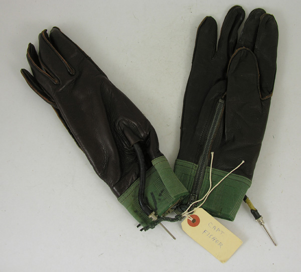 RARE USAF High Altitude Partial Pressure Suit Gloves