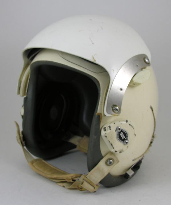 USAF HGU-26/P Flight Helmet with custom leather edgeroll