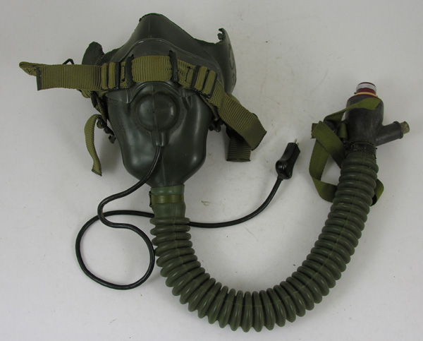 USAF MS22001 Oxygen Mask with microphone