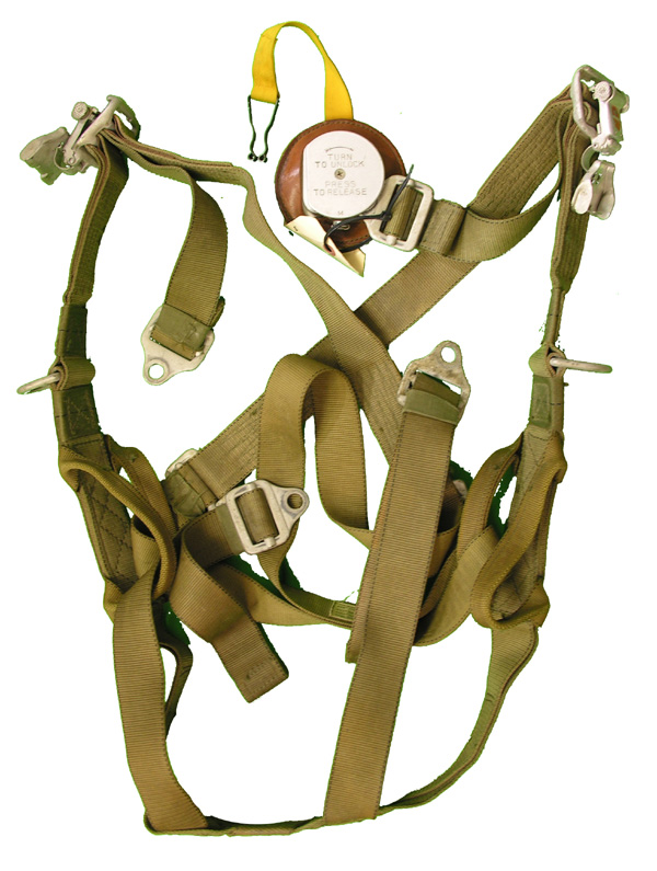 Parachute Harness with Quick Release Bang Box