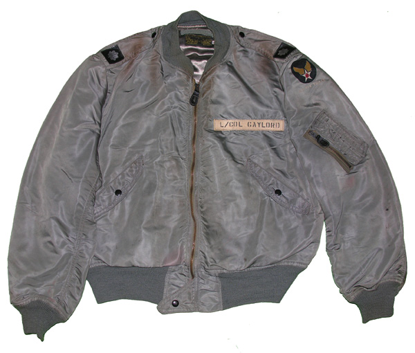USAF L-2B Flight Jacket named to Lt Col