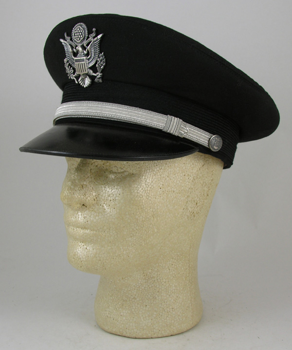 Black USAF Berkshire Visor Hat with spare white cover
