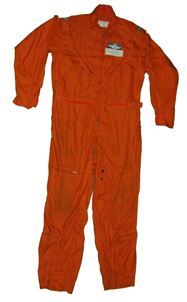 CWU-28/P Indian Orange Flight Suit with patches