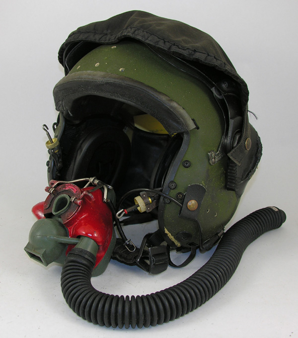 British Flight Helmet with oxygen mask