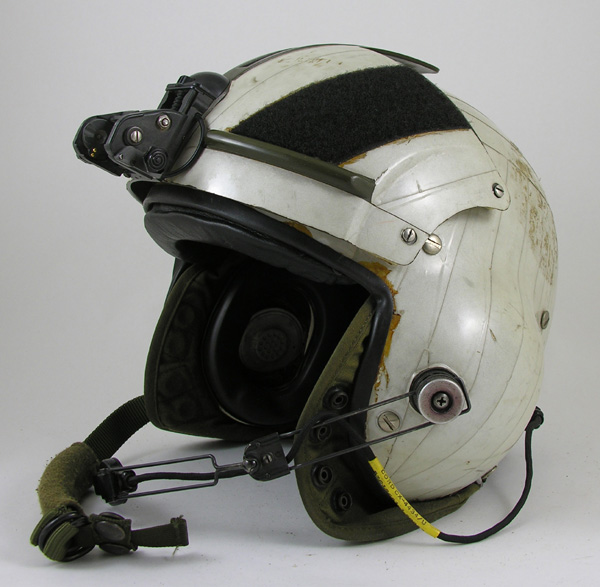 SPH-4 Helicopter Helmet with NVG Mount and Reflective Tape