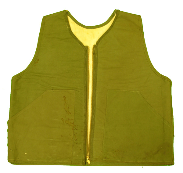 Cloth Vest made from converted USAAF Flak Vest