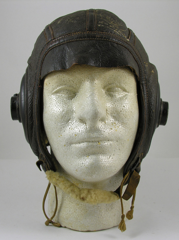 US Army Air Force AN-H-16 Shearling Flight Helmet