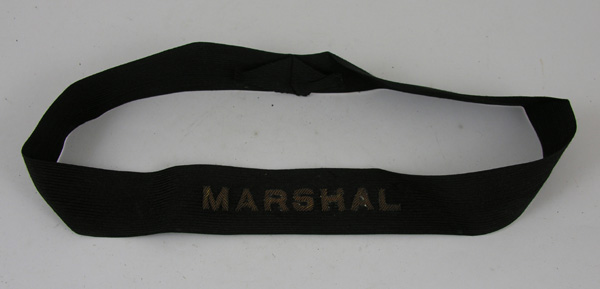 US Cap Band with Marshal Embroidered