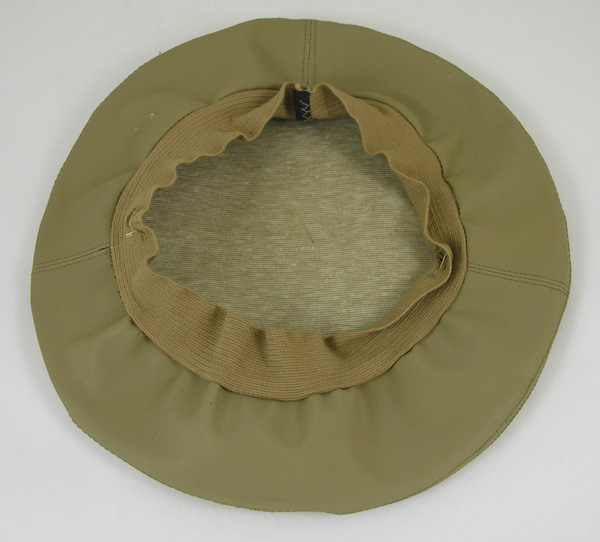 Khaki Visor Cap Cloth Cover