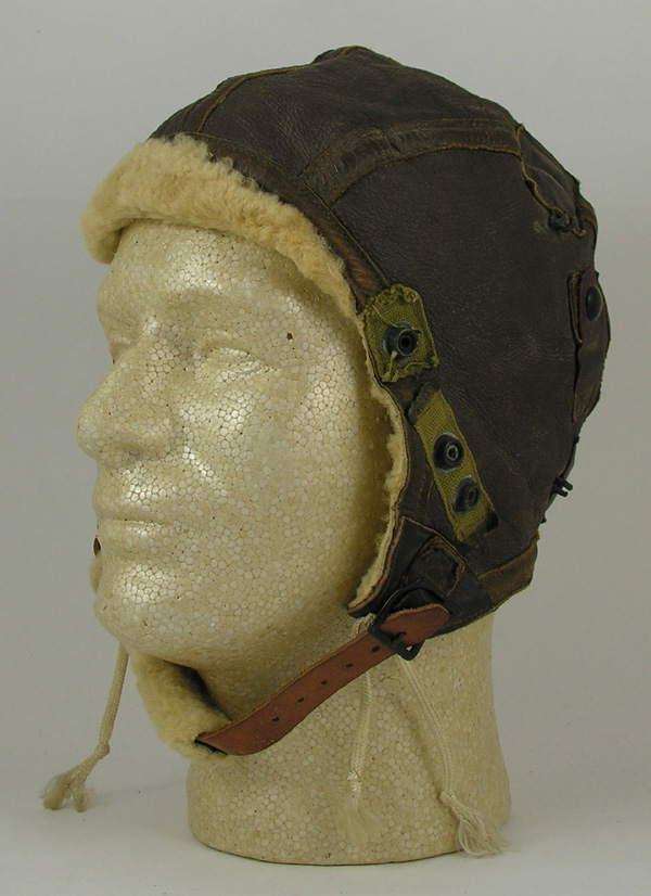 US Army Air Force B-6 Shearling Leather Flight Helmet