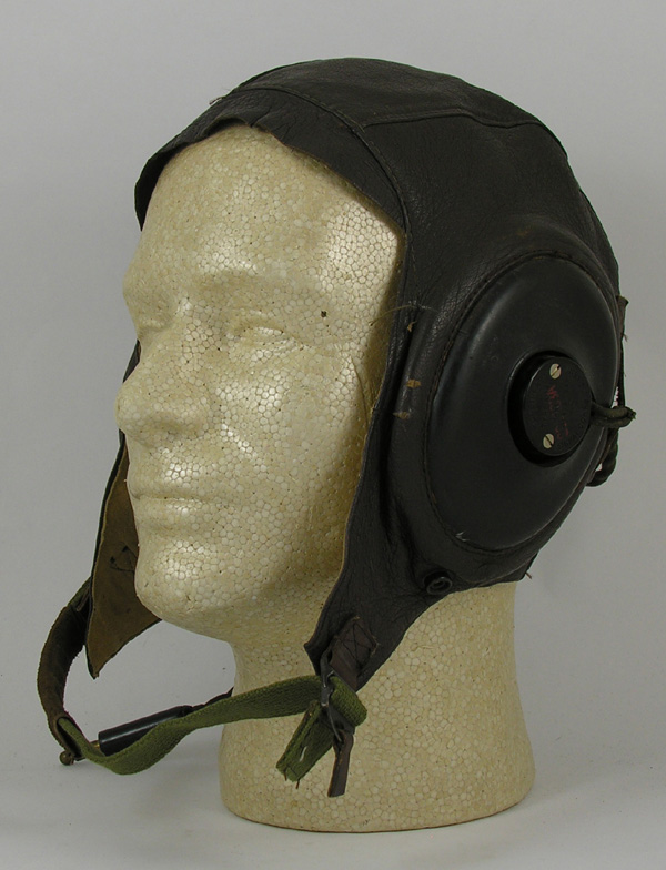 US Army Air Force A-11 Flight Helmet with R-14 Earphones