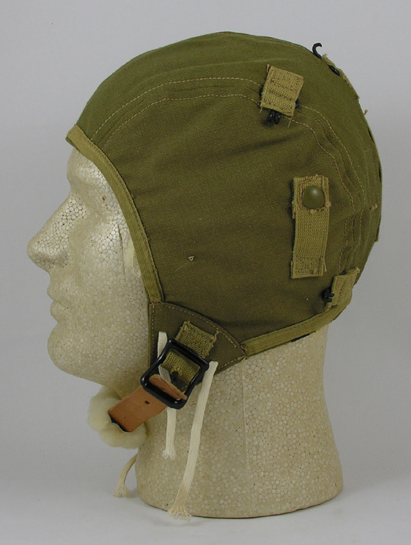 US Army Air Force A-9 Cloth Flight Helmet